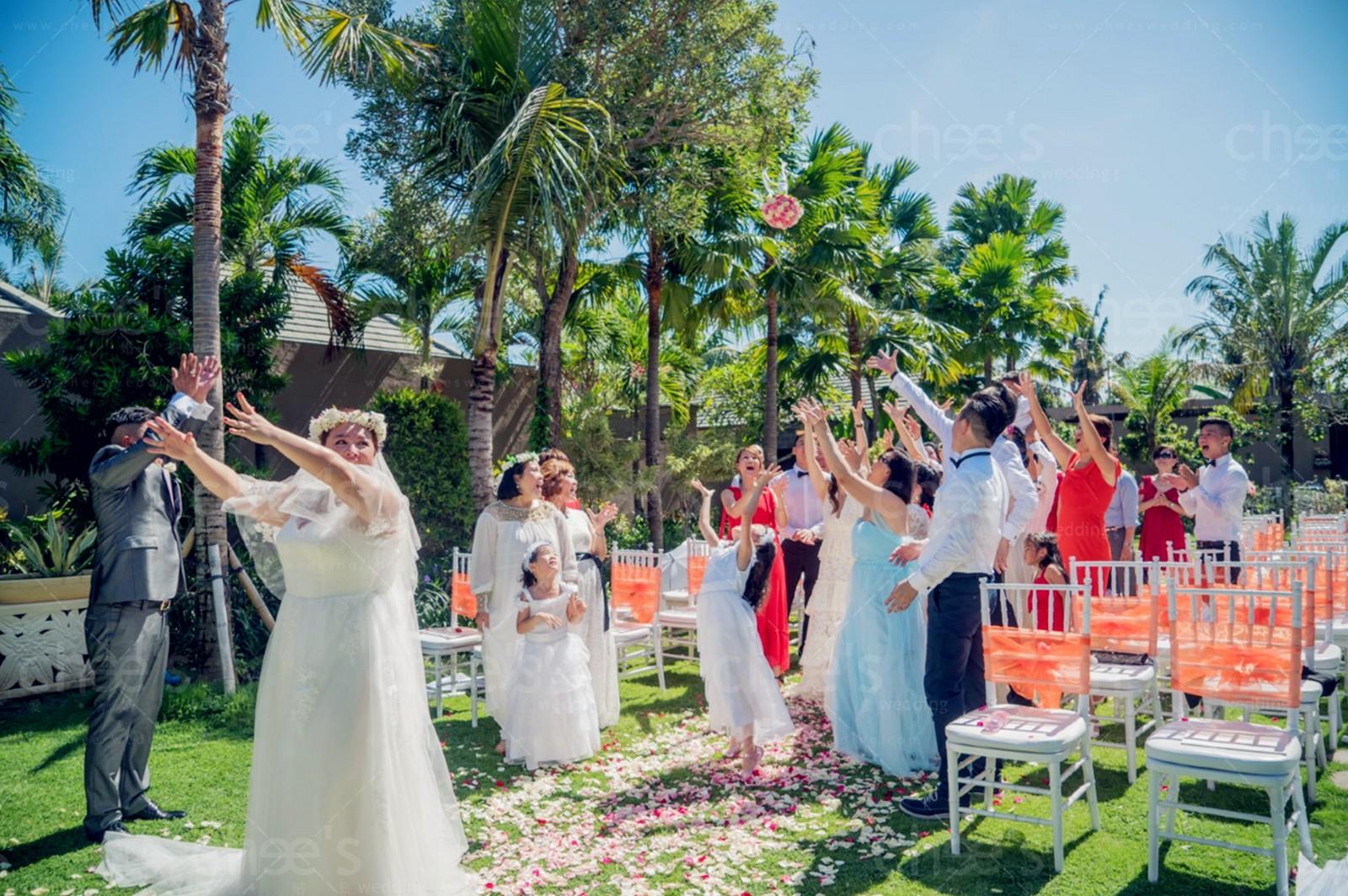 Garden Wedding, Lumbini Resort Bali | Cheeswedding